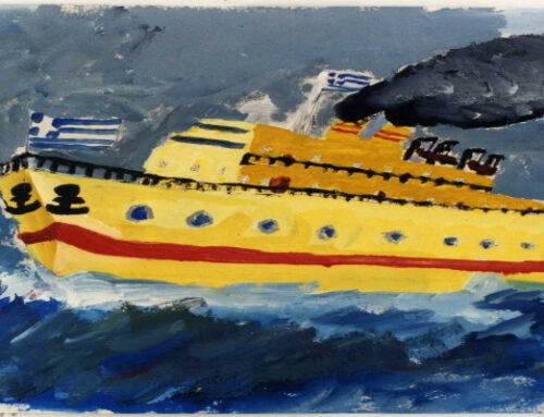 Καράβια σε θάλασσες φθινοπωρινές
